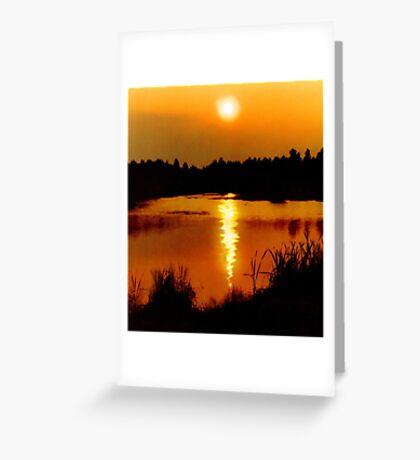 On Golden Pond Greeting Card