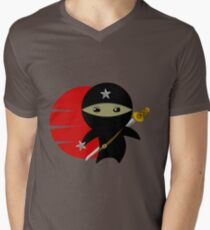 Ninja Star - Darker Version Mens V-Neck T-Shirt