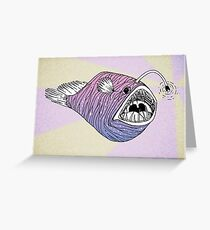 Abyssal Beauty Greeting Card