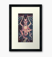 Luminescent Dragon Framed Print