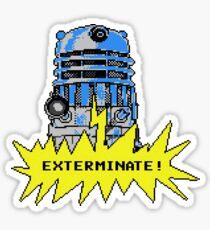 Time And Relative Pixels: Dalek Sticker