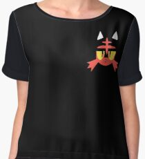 Pokemon Sun / Moon Litten New  Chiffon Top