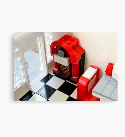 Lego Jukebox Canvas Print