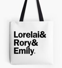 Gilmore Girls - Lorelai & Rory & Emily | White Tote Bag