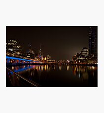 1156 Melbourne by Night  Photographic Print