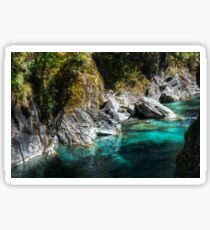 0665 Turquoise Waters Sticker