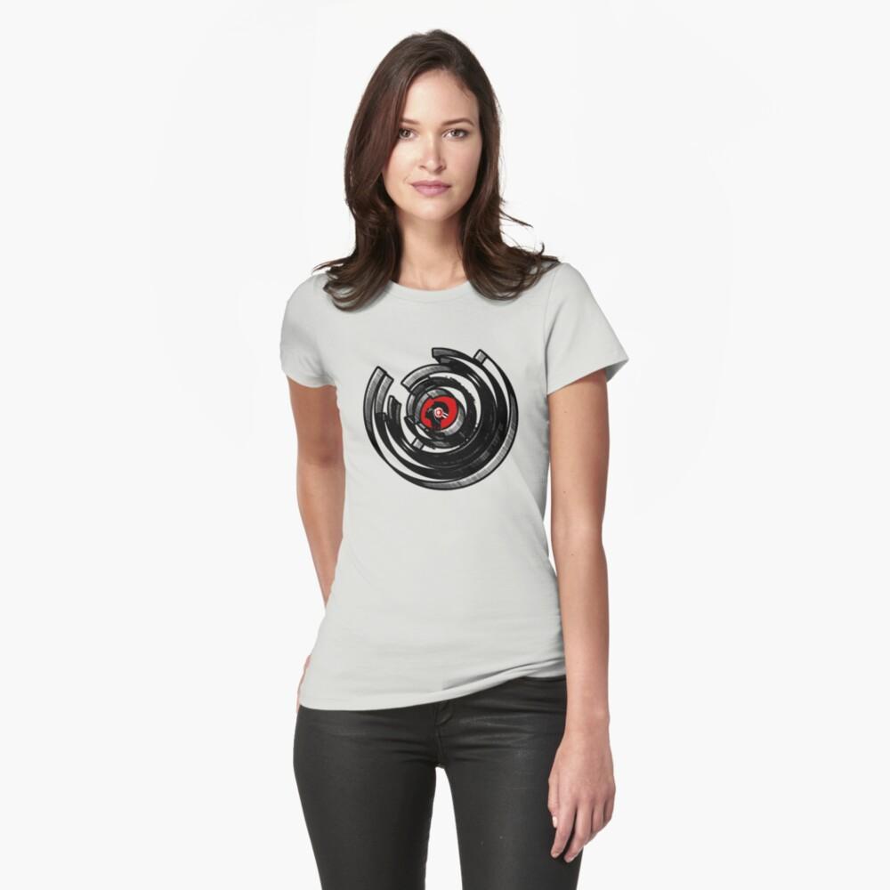 Vinylized! - Vinyl Records - New Modern design Womens T-Shirt Front