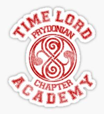 Time Lord Academy Sticker