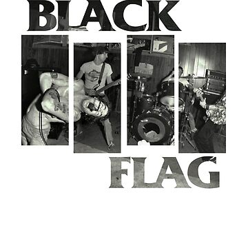 BLACK FLAG - 4 Bar Logo Live Band Montage 2 by MRedfern