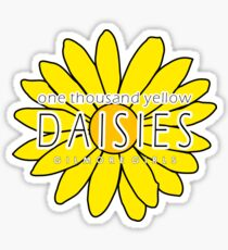 Gilmore Girls - One Thousand Yellow Daisies Sticker