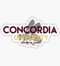 Concordia with stinger Sticker