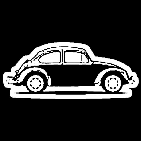 VW 1961 Beetle - Black by melodyart