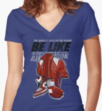 Be Like Mike - 2016 Women's Fitted V-Neck T-Shirt
