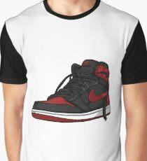 """Air Jordan 1 """"BRED"""" Graphic T-Shirt"""