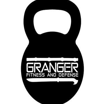 Kettlebell Logo for Granger Fitness and Defense  by johngranger