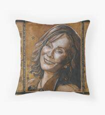 Loretta Lynn Throw Pillow