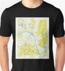 USGS TOPO Map Alabama AL Farley 303817 1950 24000 T-Shirt