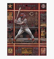 Pete Rose Photographic Print