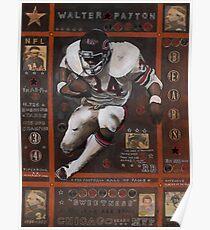 Walter Payton Poster