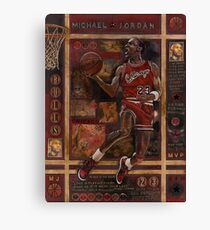 Micheal Jordan Canvas Print