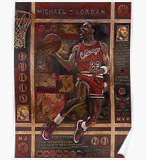 Micheal Jordan Poster