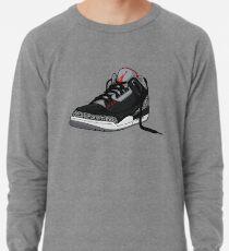 "Air Jordan 3 (III) ""BLACK & CEMENT"" Lightweight Sweatshirt"