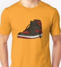 "Air Jordan 1 ""BRED"" Unisex T-Shirt"