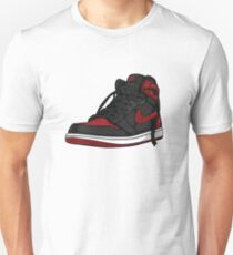 "Air Jordan 1 ""BRED"" Unisex T-Shirt"
