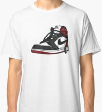 """Air Jordan 1 """"BLACK TOE"""" Classic T-Shirt"""