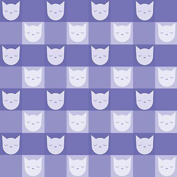 Smitten With Kittens (Violet) by petitecitrus