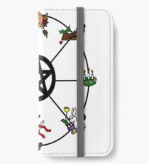 Pagan Wheel of the Year iPhone Wallet/Case/Skin