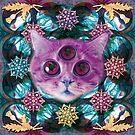 «Psychic Cat ve en la tierra de los sueños» de STORMYMADE