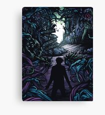 A Day to Remember Homesick Album Cover Canvas Print