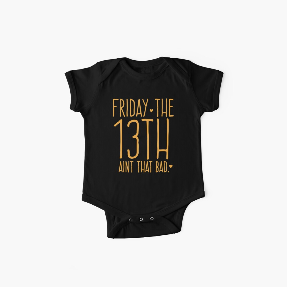 VIERNES el 13 no es tan malo Bodies para bebé