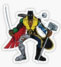Mashups: Black Heroes Sticker