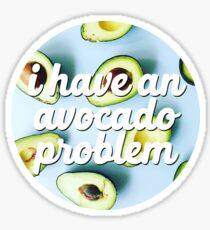 Avocado Problem Sticker