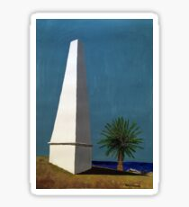 Newcastle Obelisk by Margo Humphries Sticker