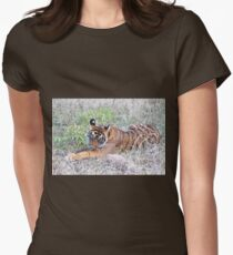Young Bengal Tiger  Women's Fitted T-Shirt