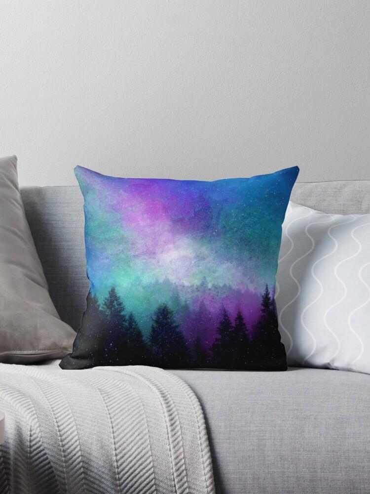 Aurora Borealis Nachthimmel von Jacqui Frank