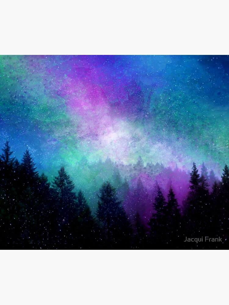 Aurora Borealis Nachthimmel von jacquifrank