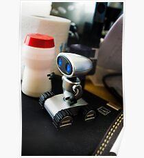 Office Robot Poster