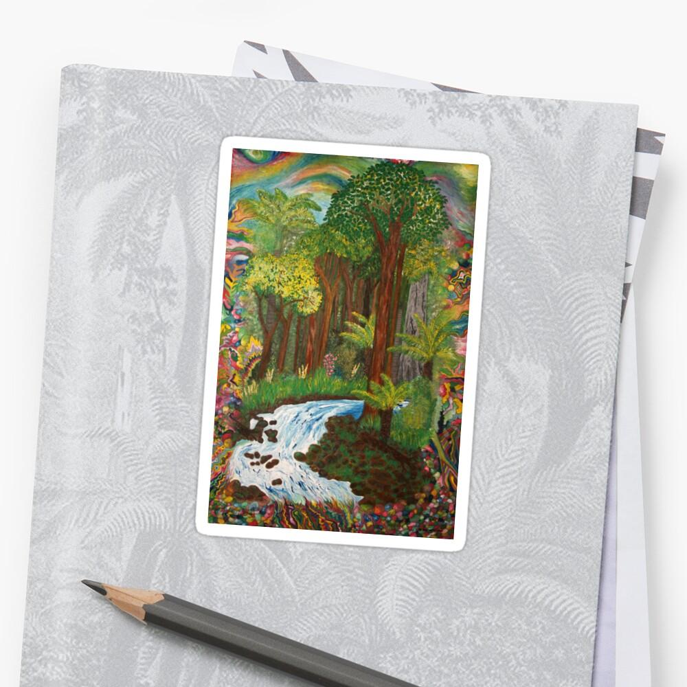 Rainforest - vivid Sticker