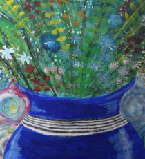 Flowers in vase Sticker