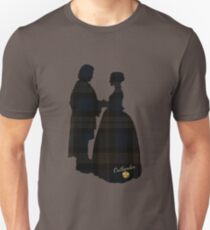 Outlander/Plaid silhouettes T-Shirt
