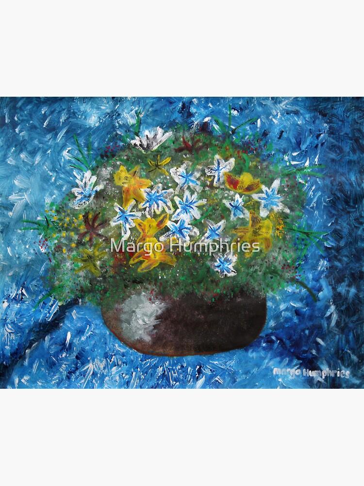 Flowers in Pot by kasarnDesigns