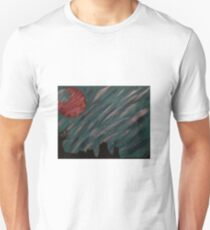 """""""Forest Green Skies"""" Acrylic Painting Unisex T-Shirt"""