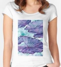 Botanical Surrealism #redbubble #lifestyle Women's Fitted Scoop T-Shirt
