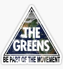 Greens Movement Sticker