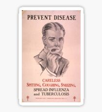 Prevent Disease Sticker