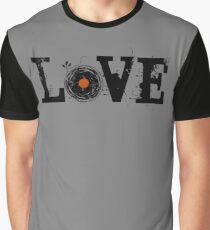 Love Vinyl Records Graphic T-Shirt